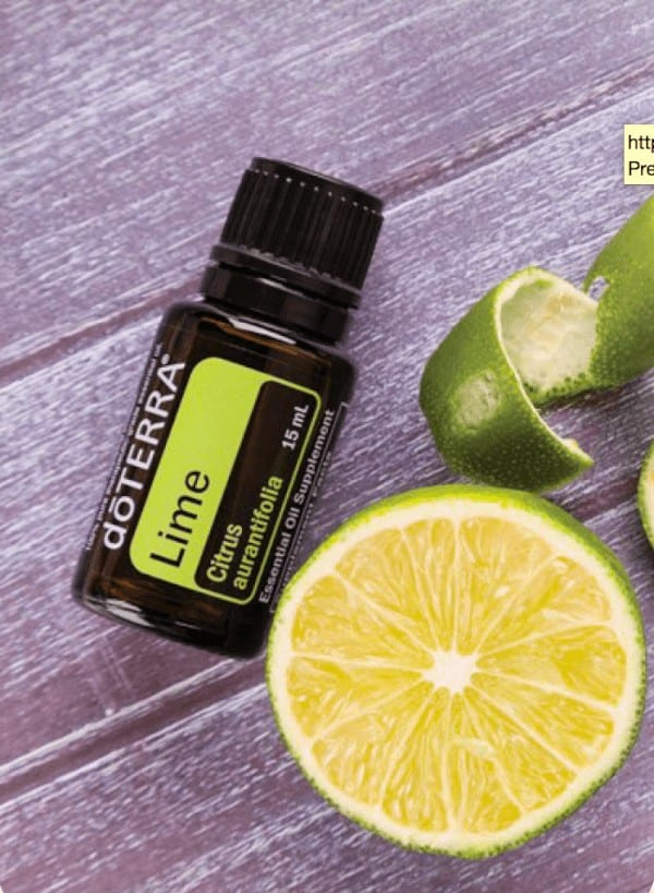 doTERRA Lime Essential Oil Uses
