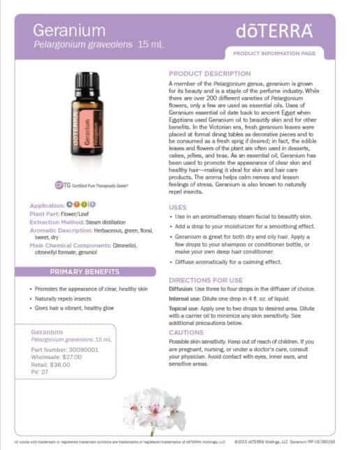 recipe: geranium essential oil pregnancy [25]
