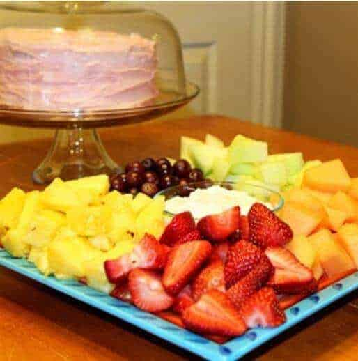 doTERRA Creamy Fruit Dip Recipe with Lemon Essential Oil doTERRA Essential Oil Party Snack and Appetizer Recipes