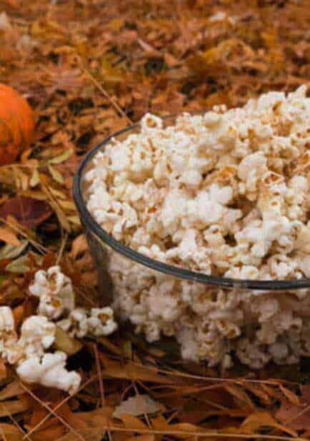 doTERRA Holiday Spice Popcorn Recipe