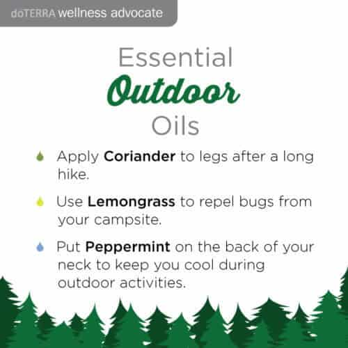 doTERRA Outdoor Essential Oils Recipe