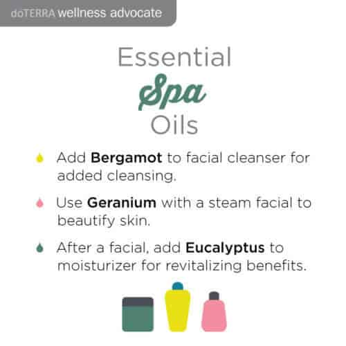 doTERRA Essential spa oils