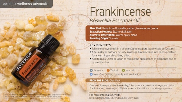 doTERRA Frankincense Benefits