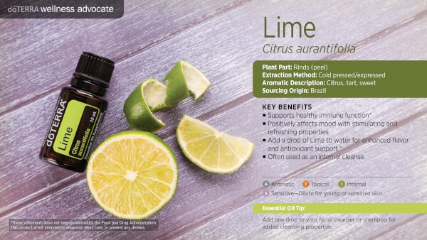doTERRA Lime Benefits