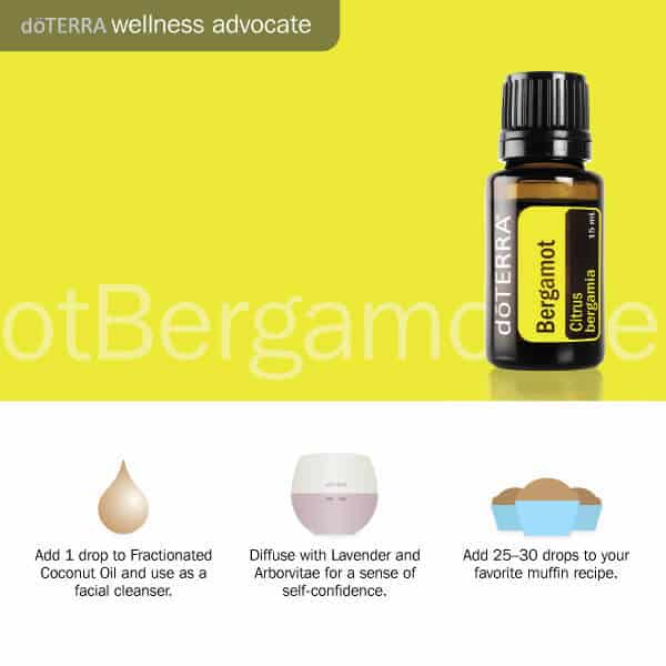3 ways to use doTERRA bergamot essential oil