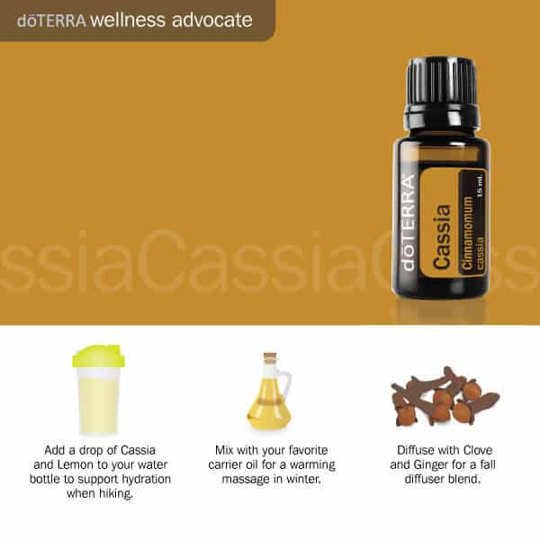 3 ways to use doTERRA cassia