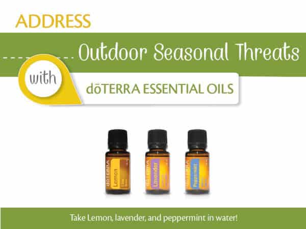 Address Outdoor Seasonal Threats with doTERRA Essential Oils