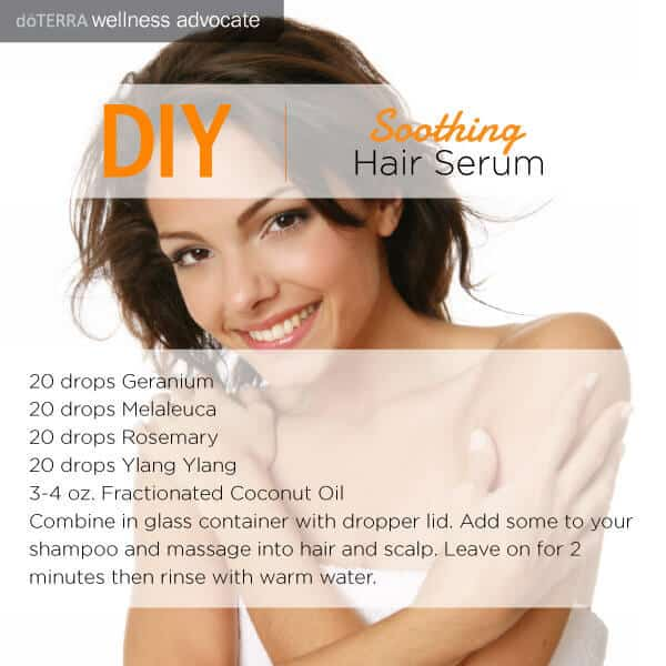 Do It Yourself Soothing Hair Serum