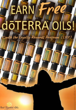 Earn Free doTERRA Essential Oils Every Month with LRP