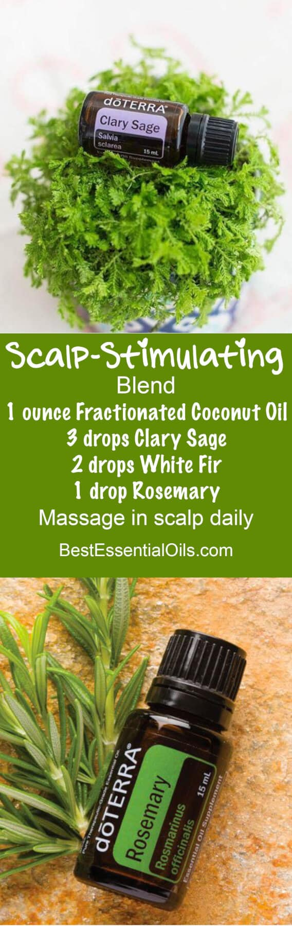 Scalp-Stimulating doTERRA Blend doTERRA hair care