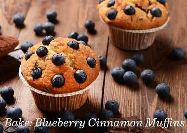 dōTERRA Blueberry Cinnamon Muffins Recipe