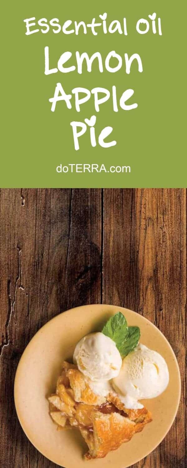 doTERRA Apple Pie with Lemon Essential Oil Recipe
