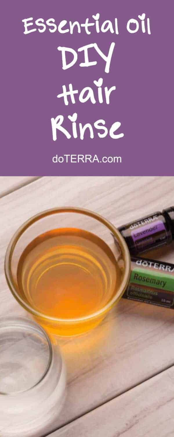 doTERRA DIY Rosemary Lavender Hair Rinse Recipe