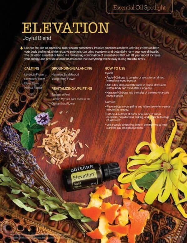 doTERRA Elevation Joyful Blend Spotlight