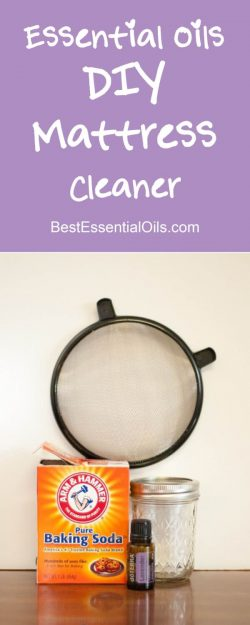 doTERRA Essential Oils DIY Mattress Cleaner Recipe