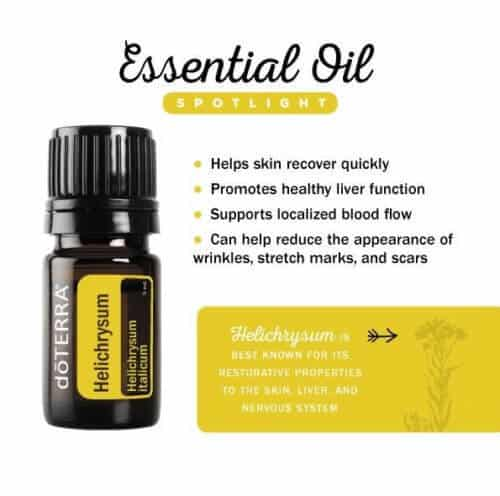 doTERRA Helichrysum Essential Oil spotlight