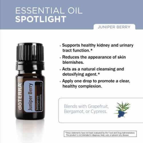 doTERRA Juniper Berry Essential Oil Uses