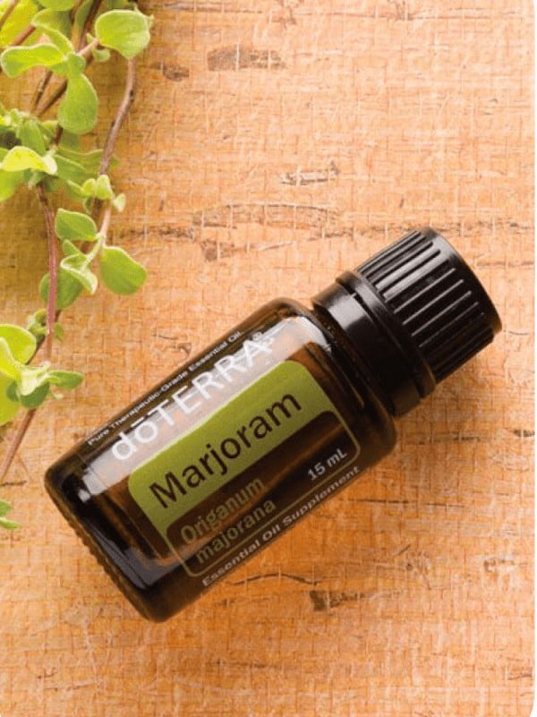 doTERRA Marjoram Essential Oil Uses