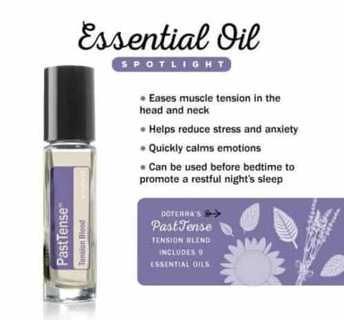 doTERRA PastTense Tension Blend Uses