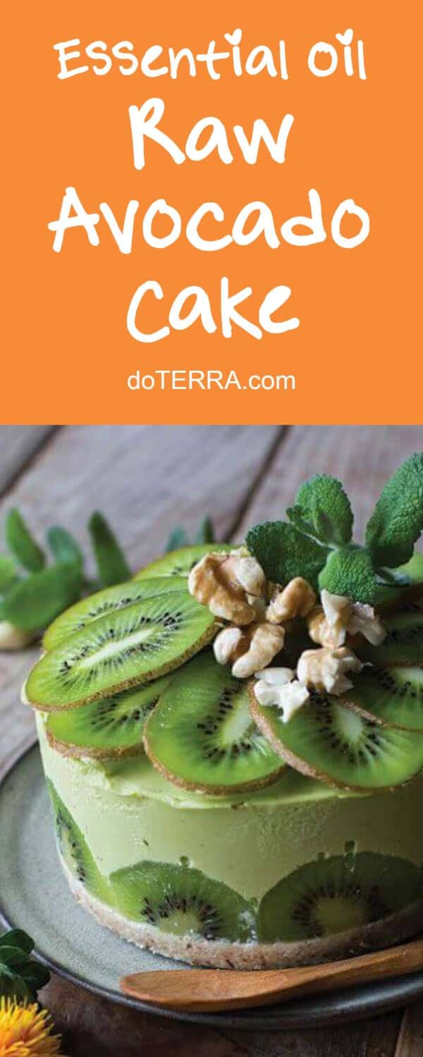 doTERRA Raw Avocado Cake Recipe