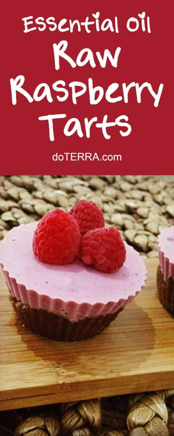 doTERRA Raw Strawberry, Raspberry and Coconut Tarts Recipe