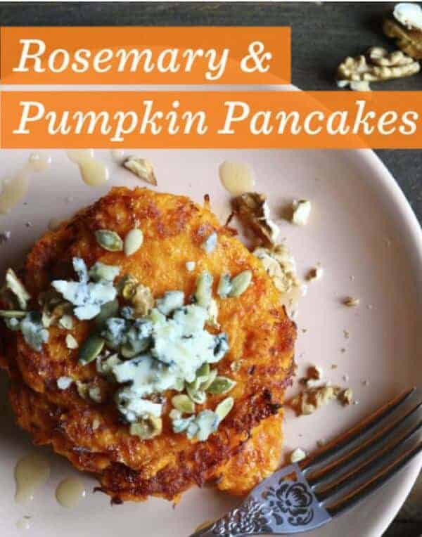 doTERRA rosemary & pumpkin pancakes recipe