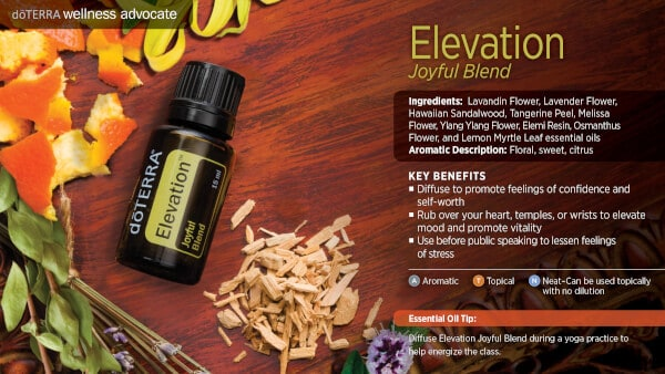 doTERRA Elevation Benefits