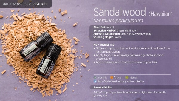 doTERRA Hawaiian Sandalwood Benefits