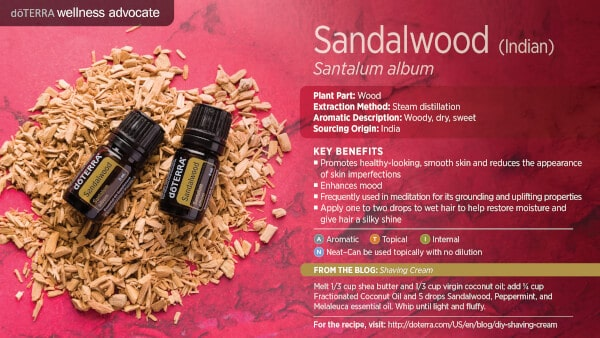 doTERRA Sandalwood Benefits