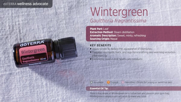 doTERRA Wintergreen Benefits