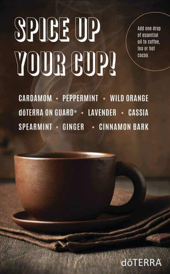doTERRA Spice Up Your Cup Recipe