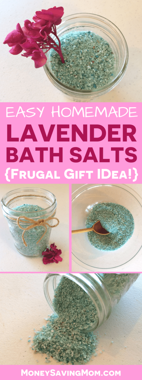 doTERRA Essential Oils Homemade Lavender Bath Salts Recipe