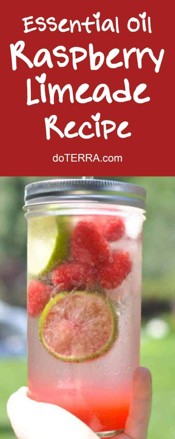 doTERRA Raspberry Limeade Recipe