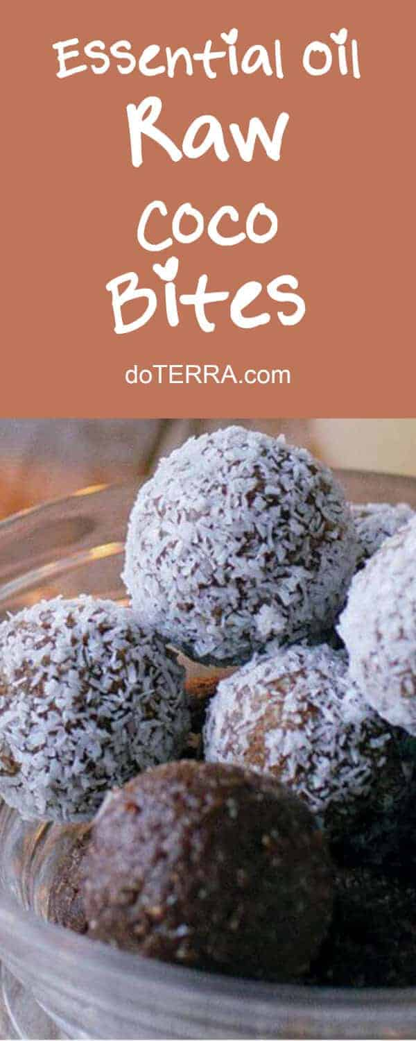 doTERRA Raw Coco Bites Recipe