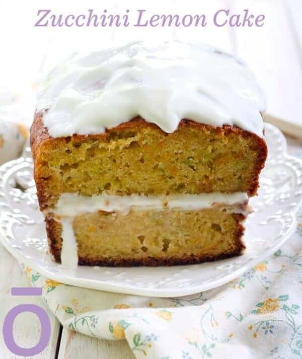 doTERRA Zucchini Lemon Cake Recipe