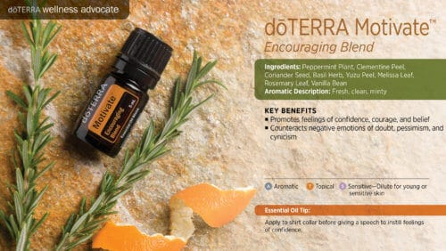 doterra motivate essential oil uses