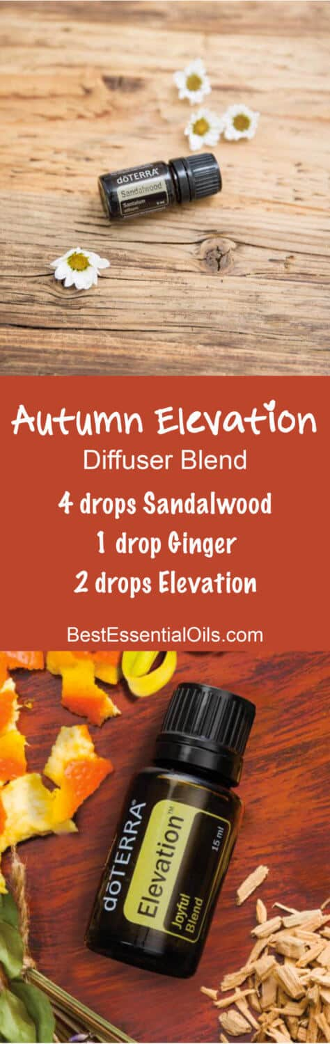 Autumn Elevation doTERRA Diffuser Blend doTERRA Elevation Joyful Blend Essential Oil Uses