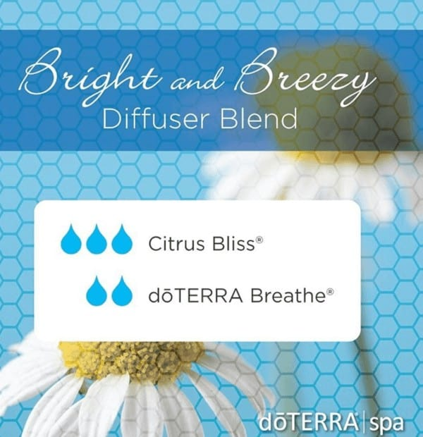 Bright and Breezy doTERRA Diffuser Blend