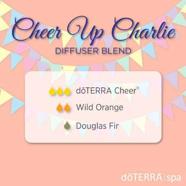 Cheer Up Charlie doTERRA Diffuser Blend