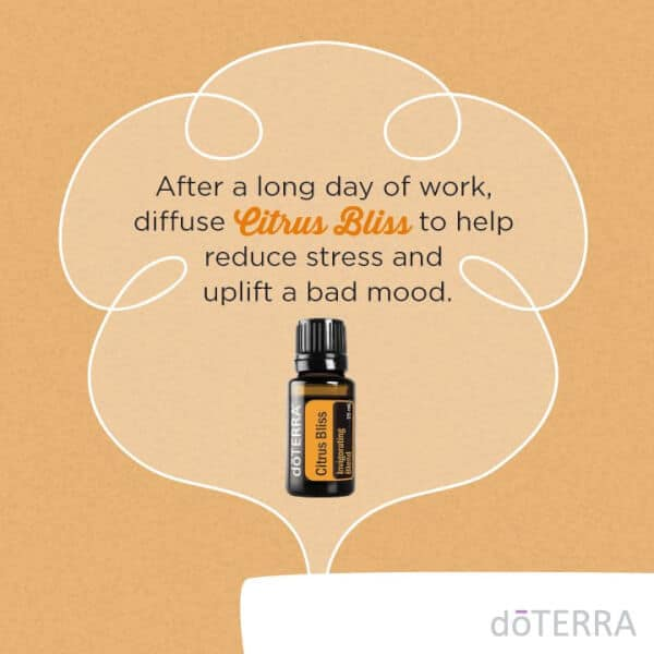 Diffuse Citrus Bliss to Reduce Stress and Uplift a Bad Mood