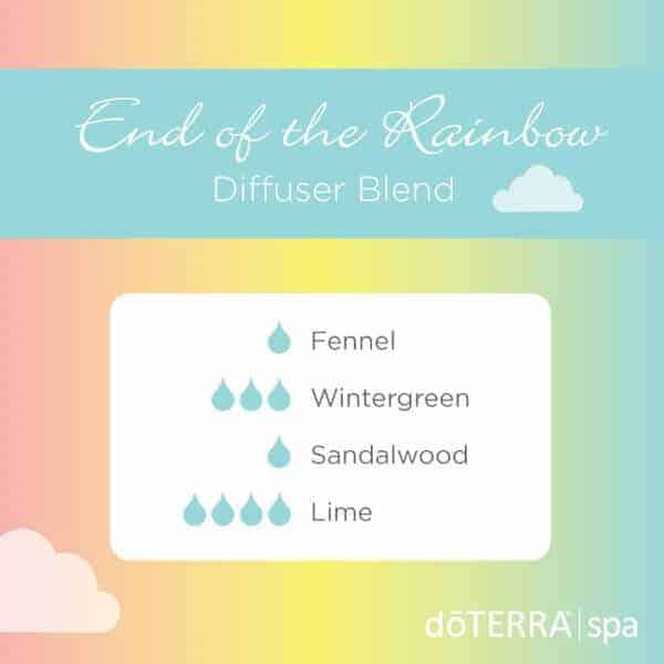 End of the Rainbow doTERRA Diffuser Blend