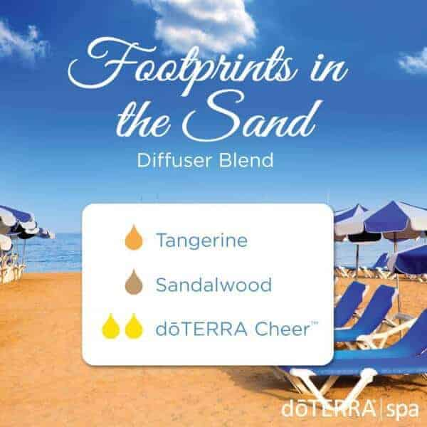 Footprints in the Sand doTERRA Diffuser Blend
