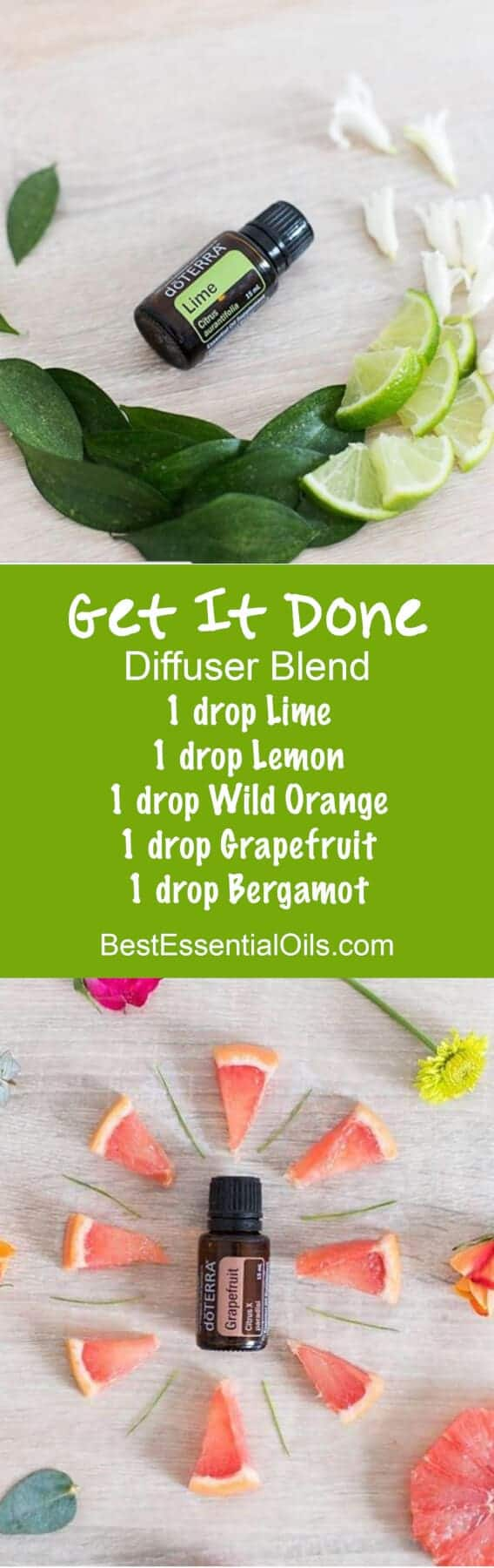 Get It Done doTERRA Diffuser Blend essential oils for motivation
