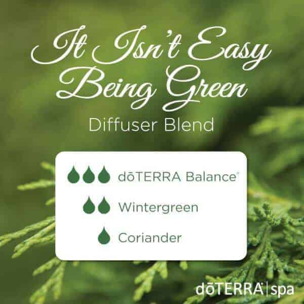 It Isn't Easy Being Green doTERRA Diffuser Blend