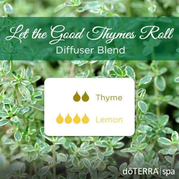 Let the Good Times Roll doTERRA Diffuser Blend