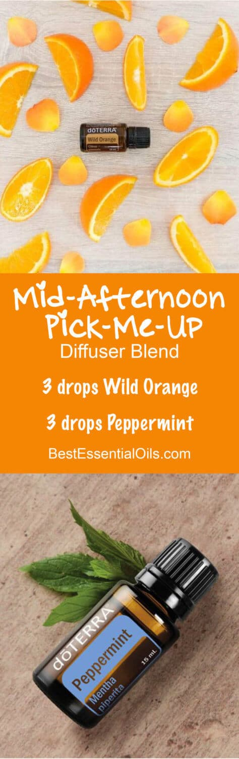 Mid-Afternoon Pick-Me-Up doTERRA Diffuser Blend Recipe