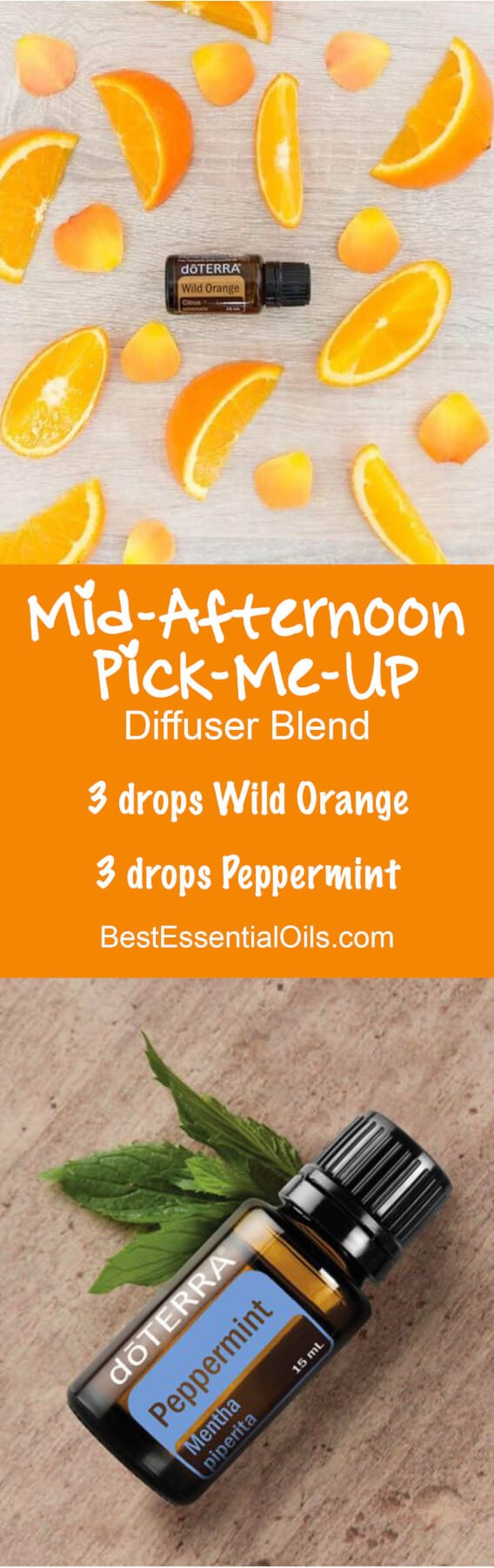 Mid-Afternoon Pick-Me-Up doTERRA Diffuser Blend
