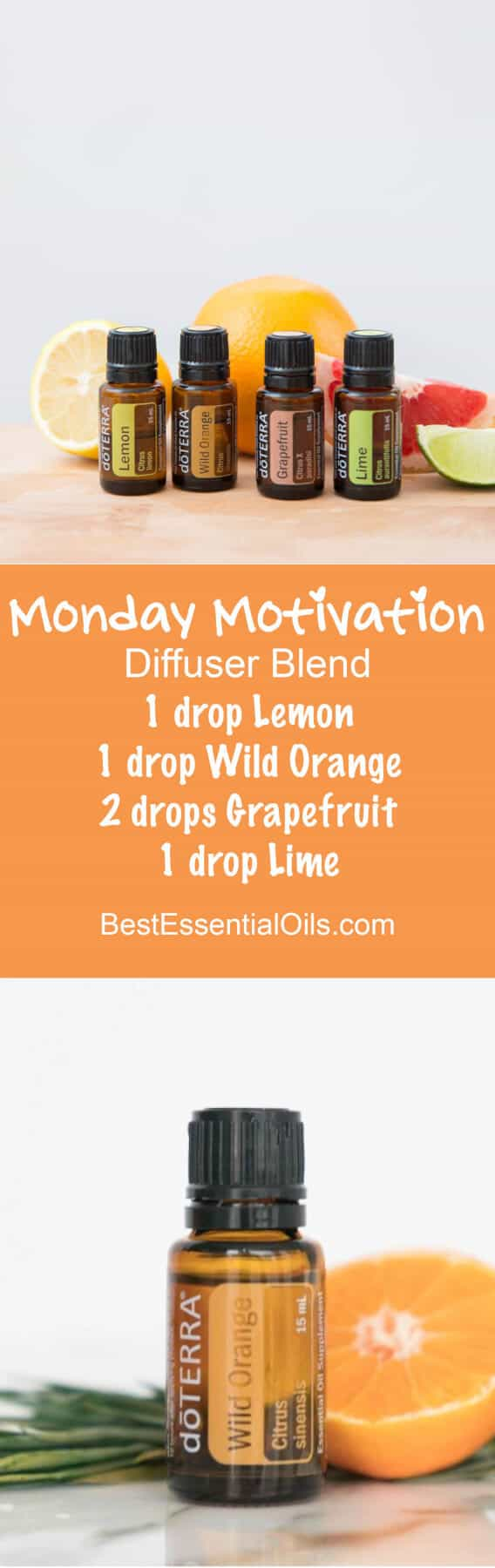 Monday Motivation doTERRA Diffuser Blend