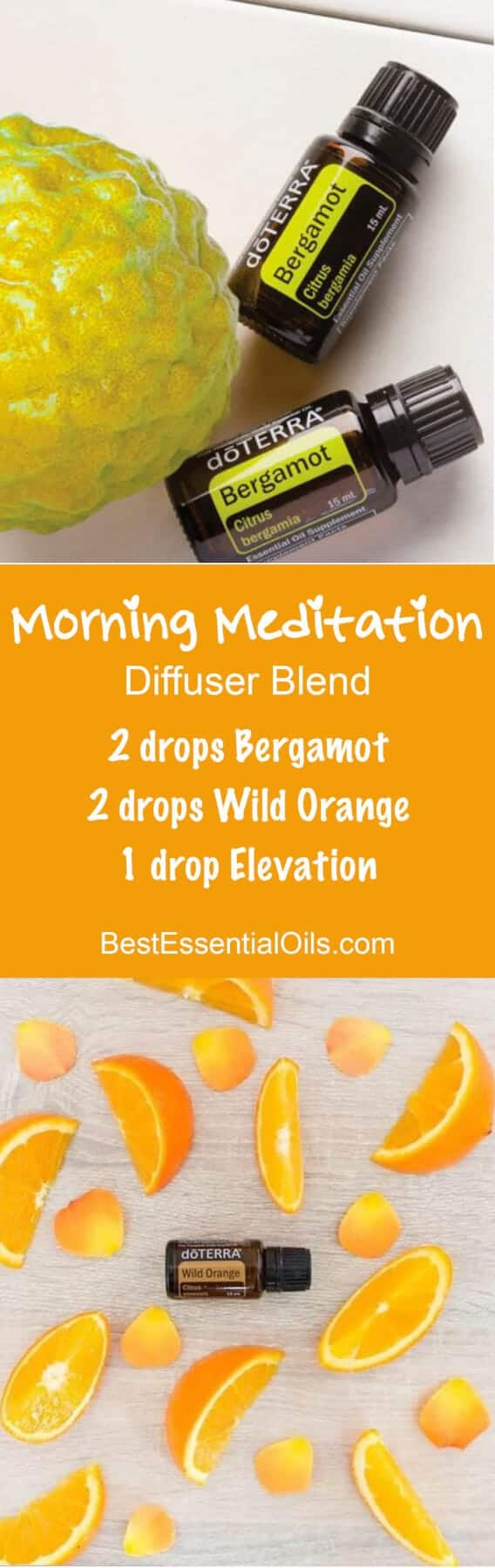 Morning Meditation doTERRA Diffuser Blend