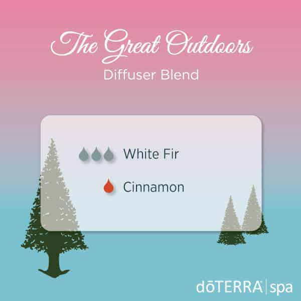 The Great Outdoors doTERRA Diffuser Blend